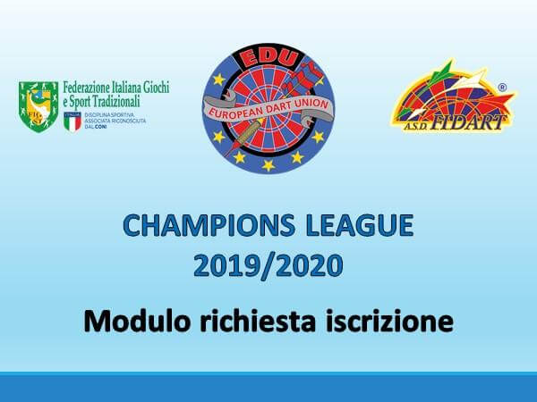 EDU Championsleague 2019/2020